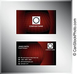 Grid business card