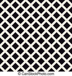 Grid geometric seamless pattern.