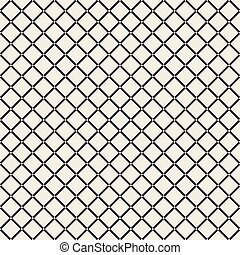 Grid geometric seamless pattern.