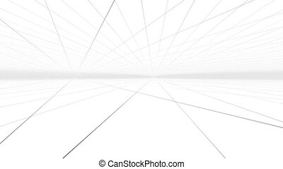 """""""Grid hall background with a camera in a motion"""""""