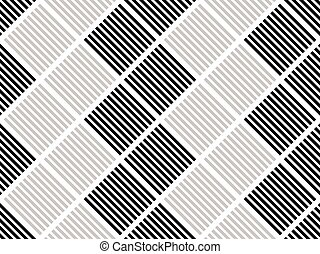 Grid, lattice pattern with rectangle shapes. Repeatable.