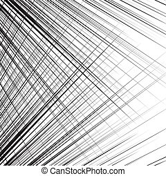Grid, mesh of dynamic irregular lines. Abstract geometric ...
