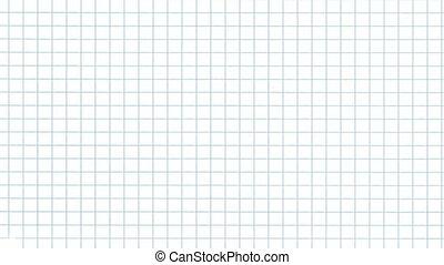grid paper flip alpha