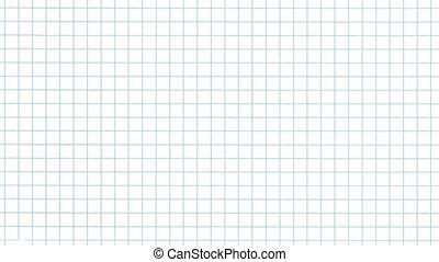 grid paper flip