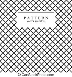 Grid seamless geometric pattern.