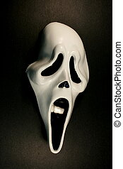 grida, halloween, faccia