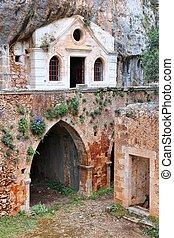 griechenland, -, kreta, kloster