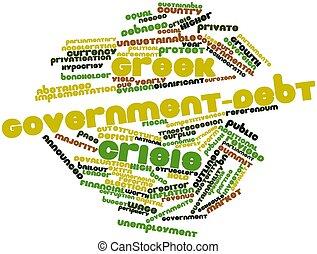 griechischer , government-debt, krise