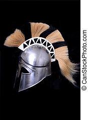 griechischer , uralt, korinther, helm