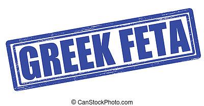 griego, feta