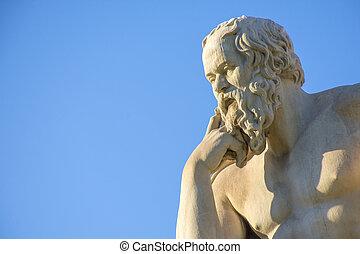 griego, socrates, filósofo