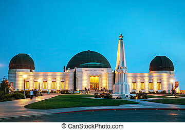griffith 天文台, 在, 洛杉磯