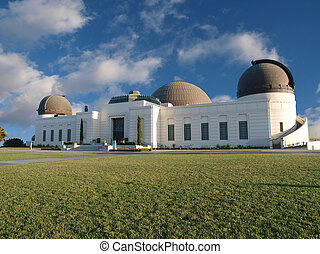 Griffith Park Observatory, famous Los Angeles city owned...