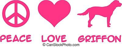 griffon, paz, amor