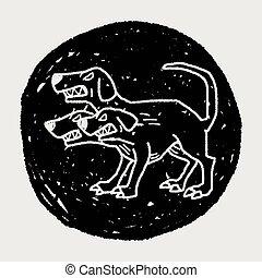 griffonnage, cerberus