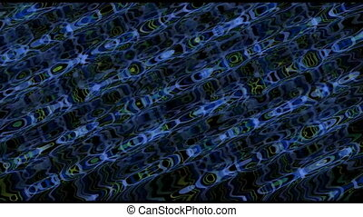 griffonnage, diagonal, bleu, haut, boucle, vidéo, fond, seamless, raies, sombre, courant