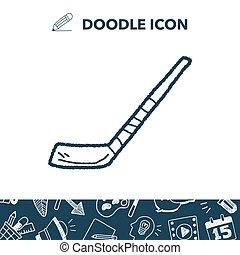 griffonnage, hockey bâton