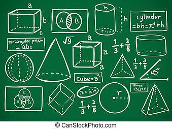 griffonnage, math