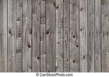 grigio, alterato, granaio, legno
