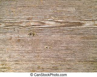 grigio, alterato, su, grano legno, fondo, chiudere