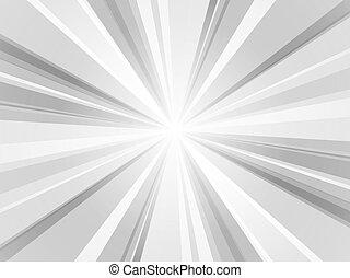 grigio, carta da parati, raggi, fondo, astratto