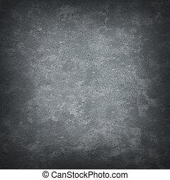 grigio, chiazzato, grungy, fondo
