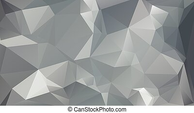 grigio, colorare, polygonal, mosaico, fondo, vettore, illustrazione, affari, disegnare sagome