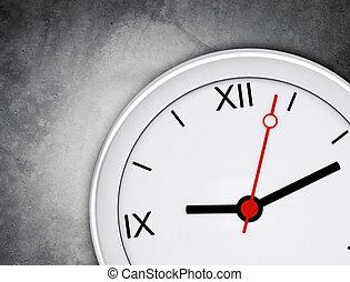 grigio, orologio