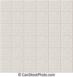 grigio, pavimento, ceramica, pattern., seamless, illustrazione, vettore, piastrella, marmo