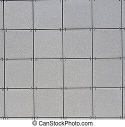 grigio, pietra, quadrato pavimenta