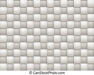 grigio, quadrato, blocchi