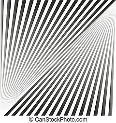 grigio, raggi, forma, astratto, seamless, zebrato, white., fondo