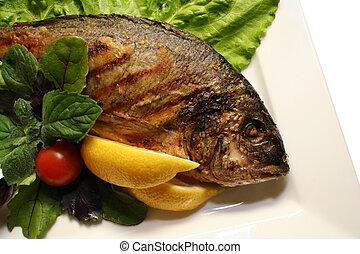 griglia, fish