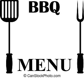 griglia, isolato, menu