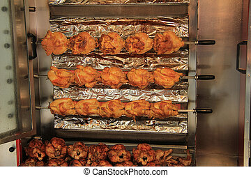 griglia, pollo