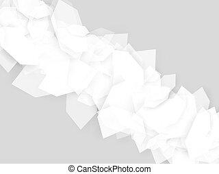 grijs, abstract, geometrisch, achtergrond