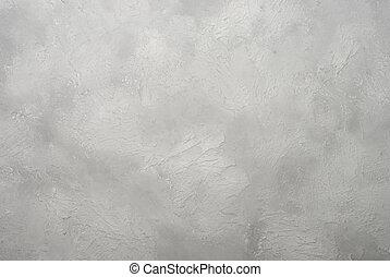 grijs, artistiek, stucco