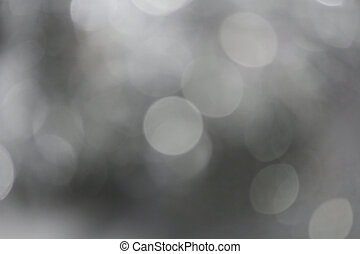 grijs, bokeh, achtergrond