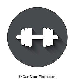 grijs, cirkel, vector, moderne, pictogram