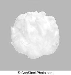 grijs, gematigd, schoonheidsmiddel, achtergrond., witte , room