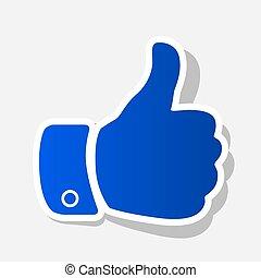grijs, illustration., licht, buiten, meldingsbord, achtergrond., slag, vector., jaar, hand, nieuw, schaduw, blauwachtig, pictogram