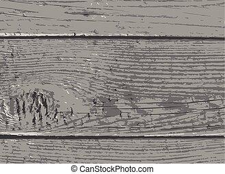 grijs, loofhout, textuur, houten, achtergrond, plank