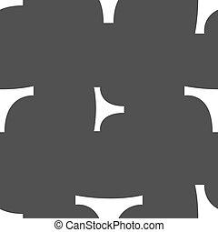 grijs, ondergoed, model, teken., seamless, achtergrond., vector, pictogram