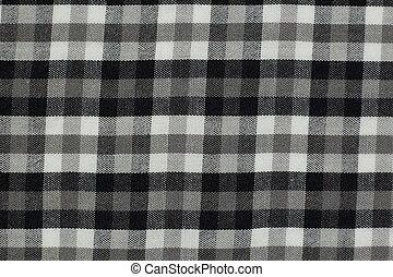 grijs, picknick, macro, black , op, textuur, achtergrond, foto, afsluiten, witte , tafelkleed, structuur, studio.