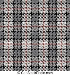 grijs, ruitjes, streep, rood, pixel