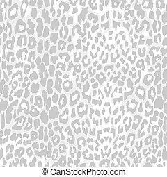 grijs, schub, model, luipaard, vector, afdrukken