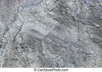 grijs, steenmuur, op, textuur, afsluiten
