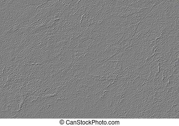 grijs, stucco, textuur