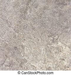 grijs, travertine, natuursteen, textuur, achtergrond