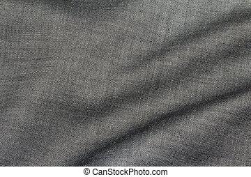 grijs, weefsel, textuur, elegant, achtergrond, katoen
